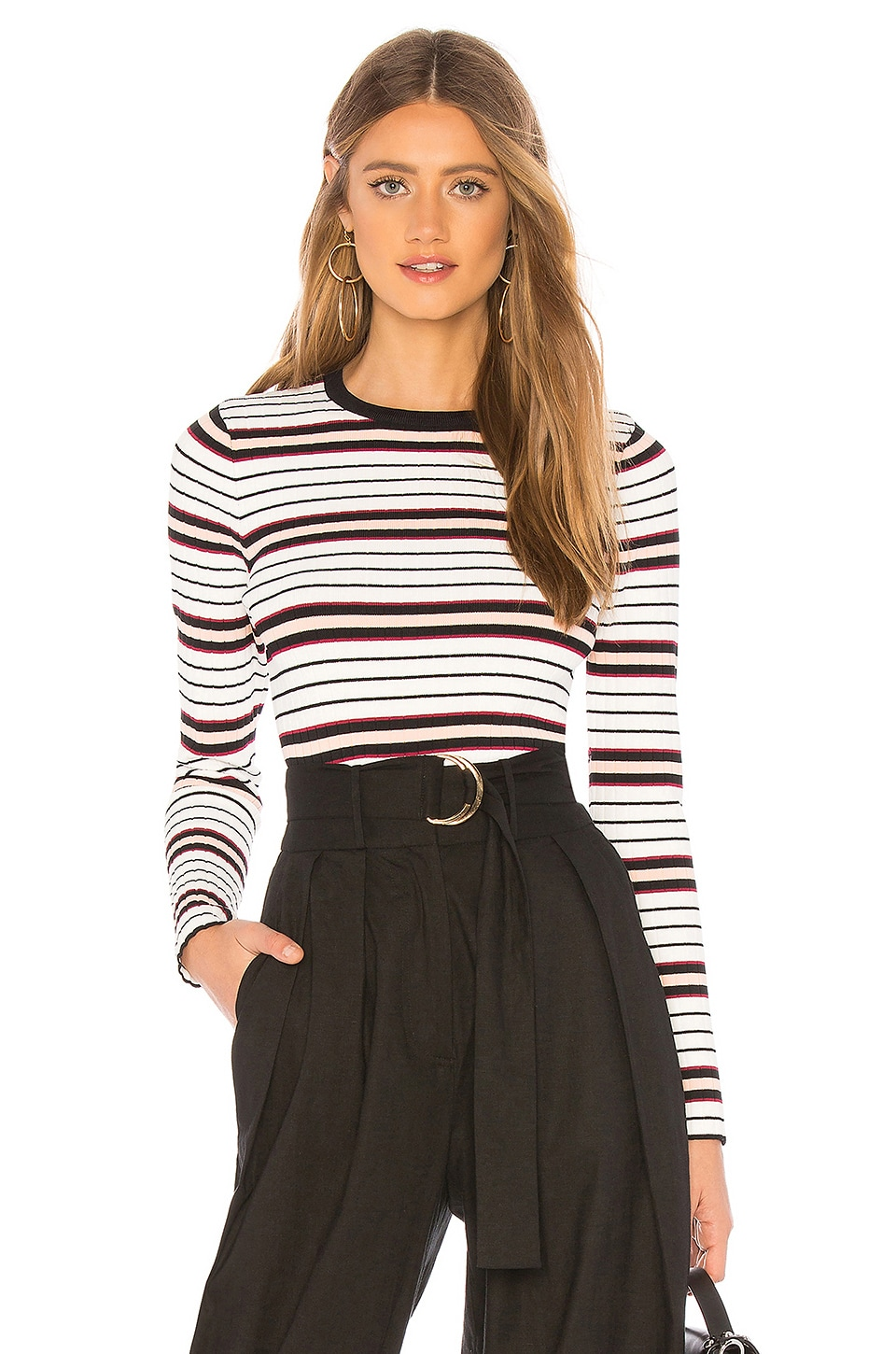 ABOUT US LENNEA RIBBED TOP