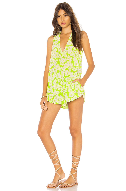 Haiku Romper in Green. - size XS (also in M,S) Acacia Swimwear