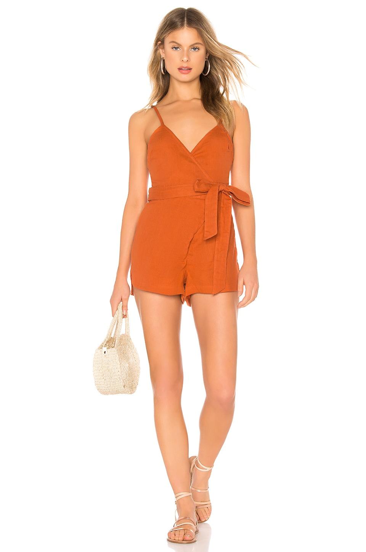 Acacia Swimwear NS Romper in Apricot