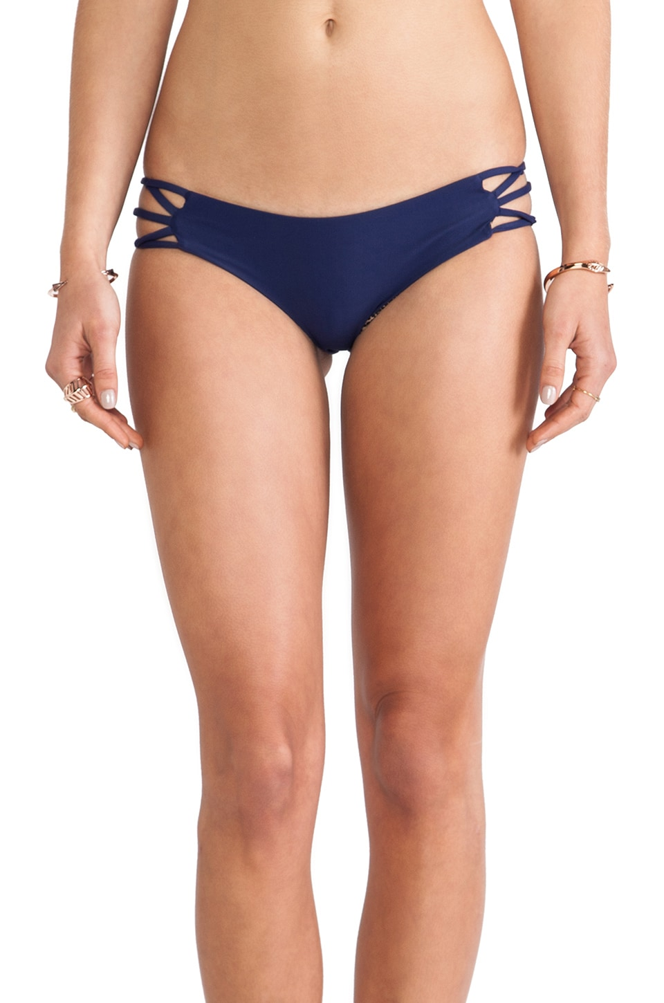 Acacia Swimwear La Riviera Bottom in Indigo