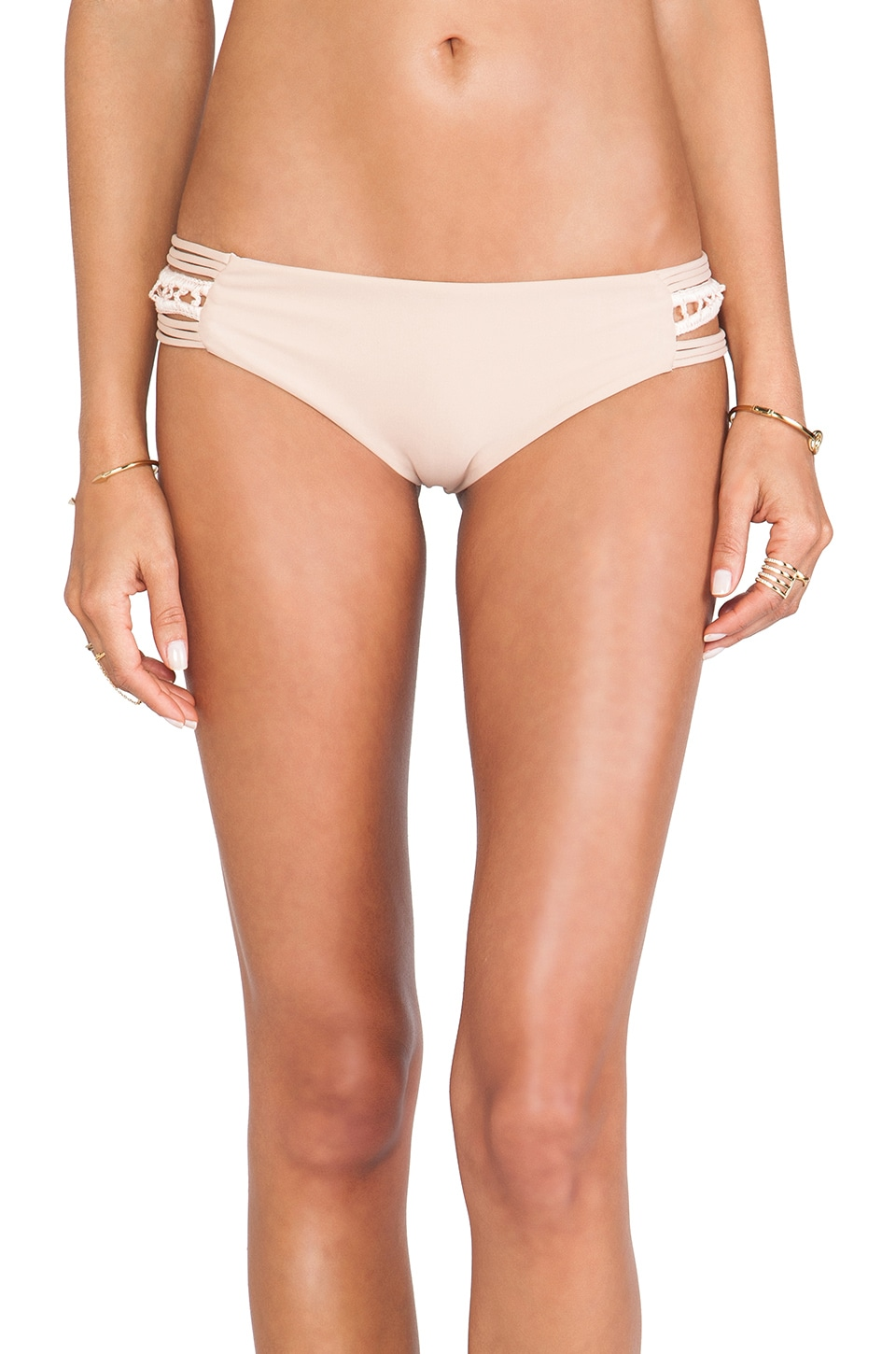 Acacia Swimwear Pikake Bottom in Naked