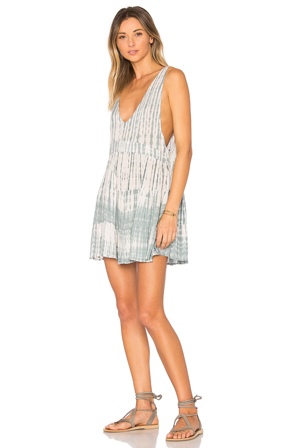Acacia Swimwear Havana Mini Dress in Shibori