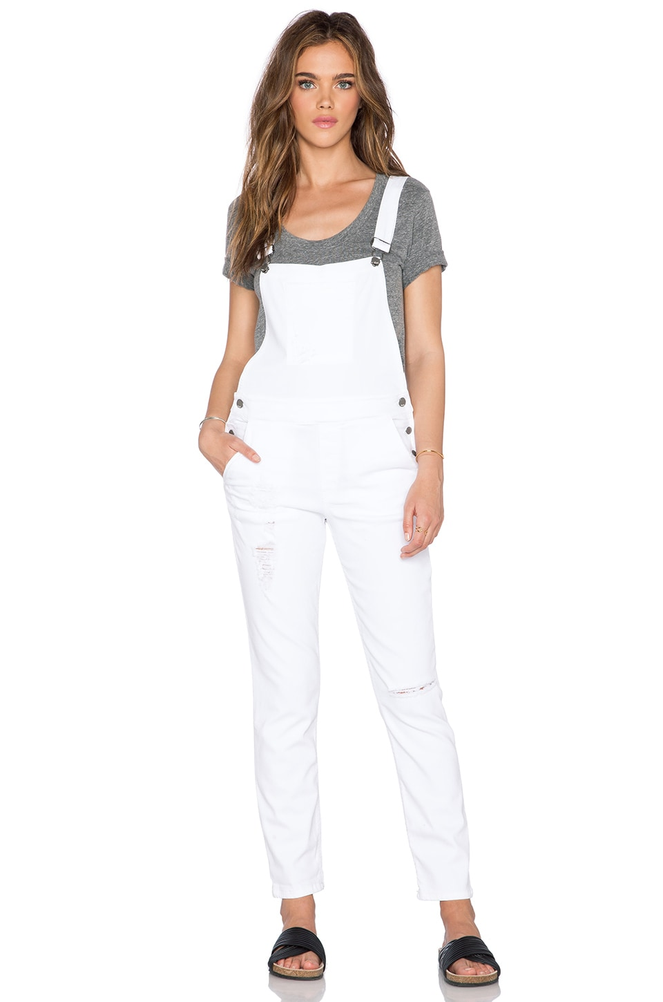 a.c.e. Bixie Overall in White