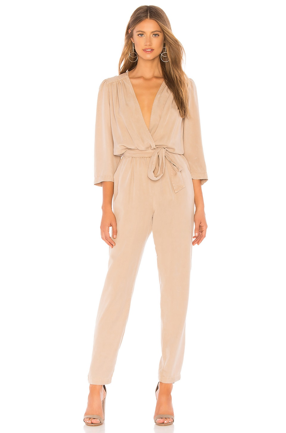YFB CLOTHING Bellows Jumpsuit en Camel AW