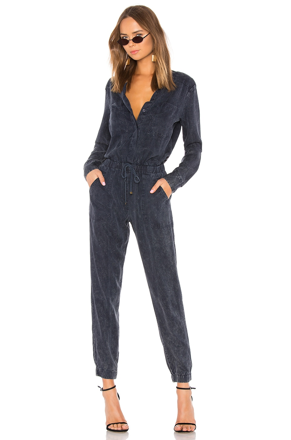 YFB CLOTHING Everest Jumpsuit in Navy AW
