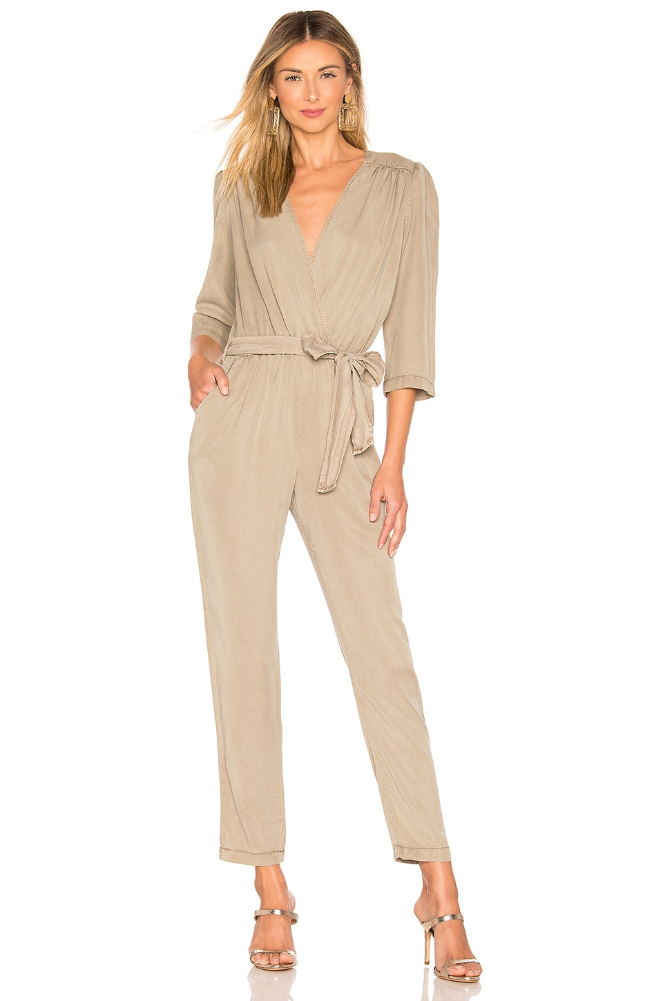 YFB CLOTHING Bellows Jumpsuit en Pear