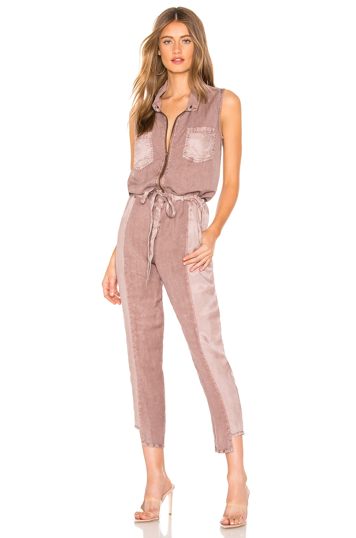 YFB CLOTHING Linette Jumpsuit en Teak