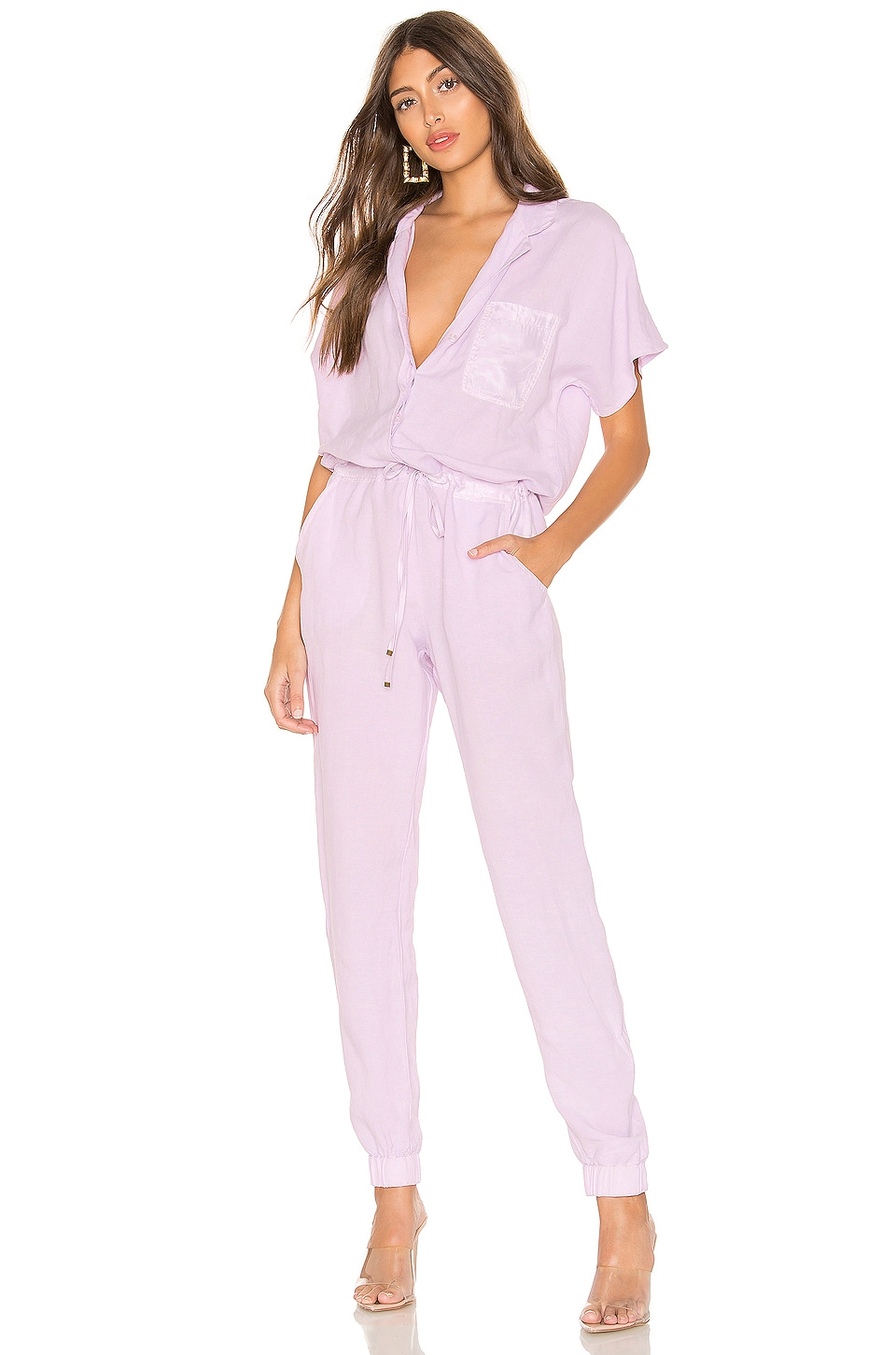 YFB CLOTHING X REVOLVE Adrienne Jumpsuit in Lilac