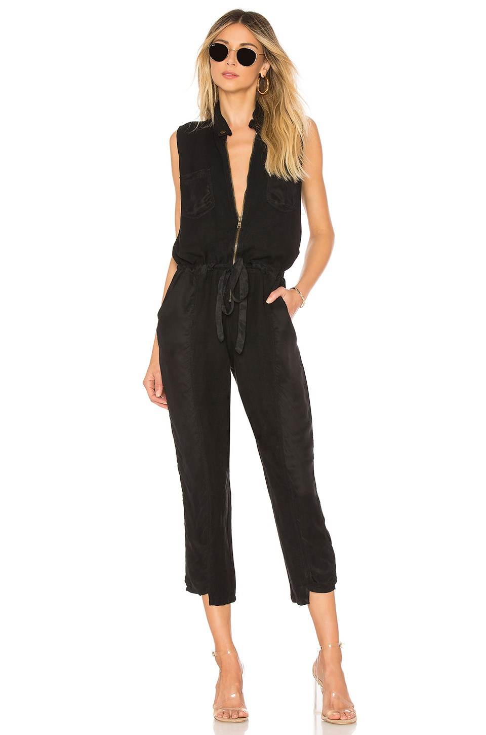 YFB CLOTHING Linette Jumpsuit in Black