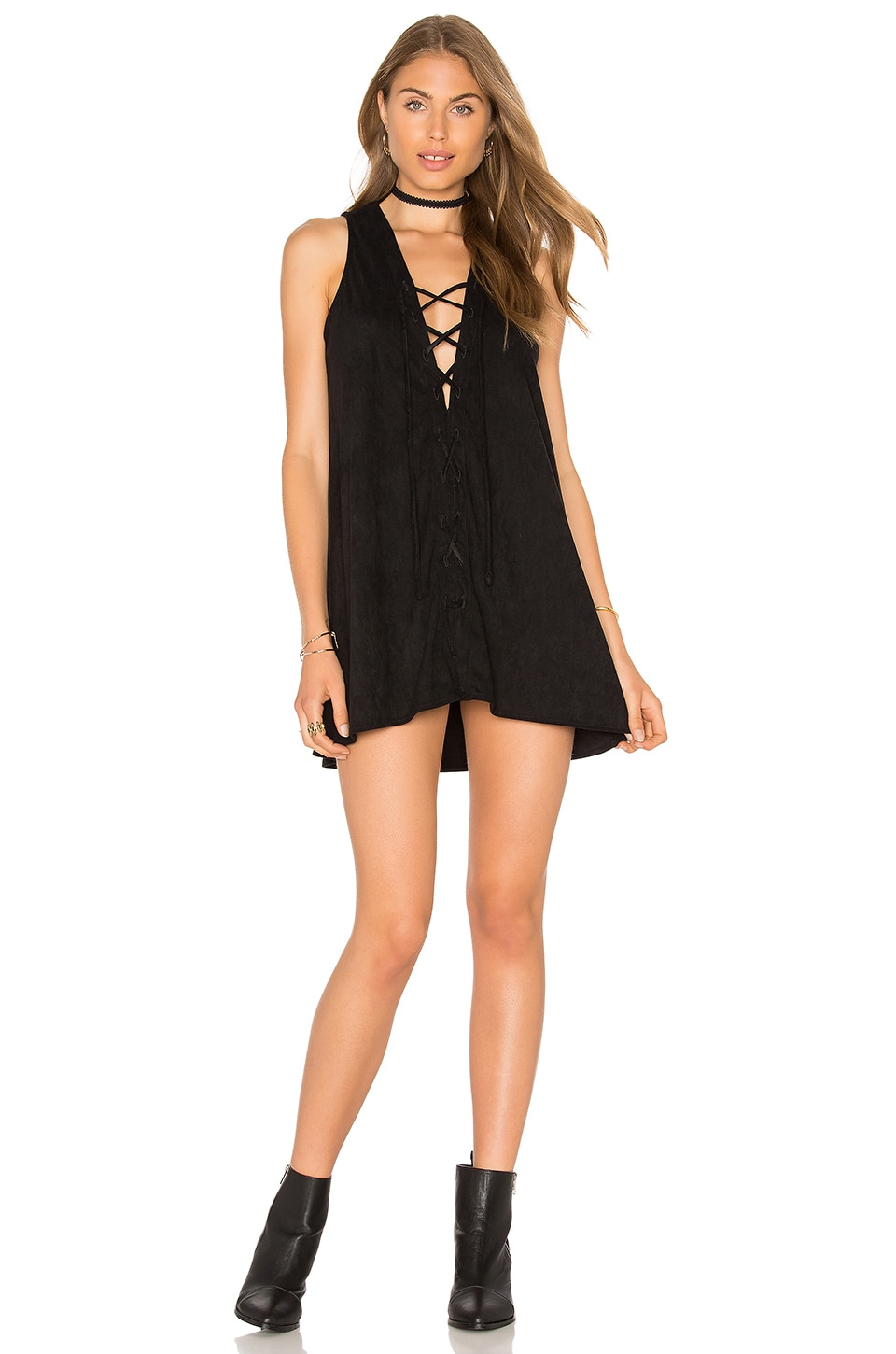 YFB CLOTHING Alt Dress in Black