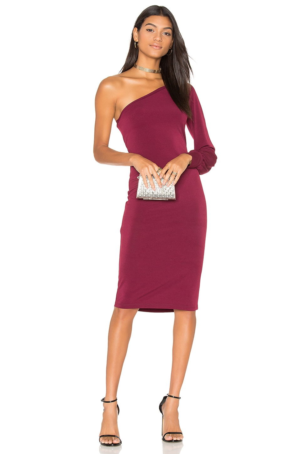 YFB CLOTHING Vesper Dress in Chestnut