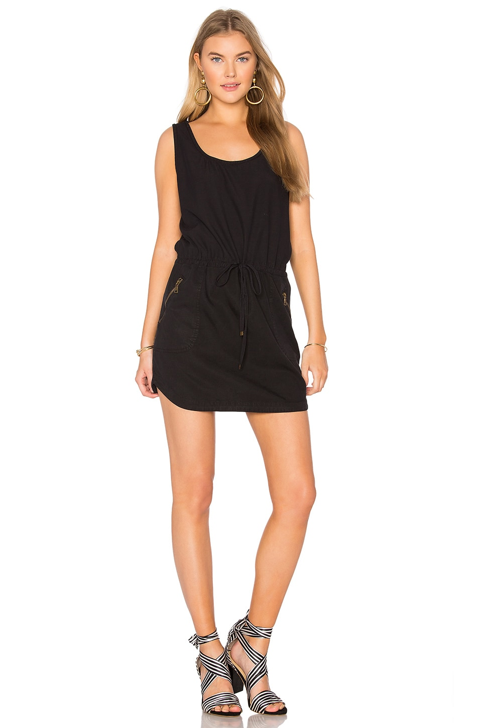 YFB CLOTHING Dime Dress in Black
