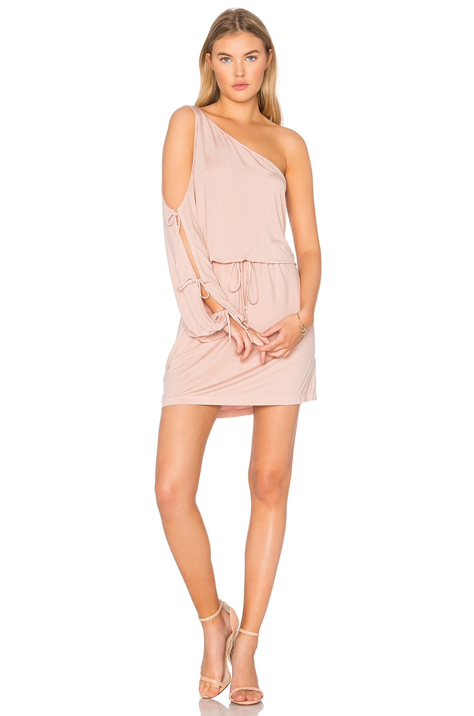 YFB CLOTHING Lula Dress in Pink Sand