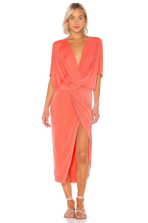 YFB CLOTHING Luana Dress in Papaya