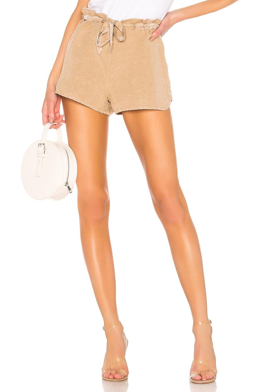 YFB CLOTHING Huron Short en Khaki Acid