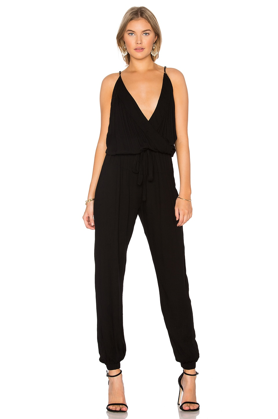 YFB CLOTHING Rodney Jumpsuit in Black
