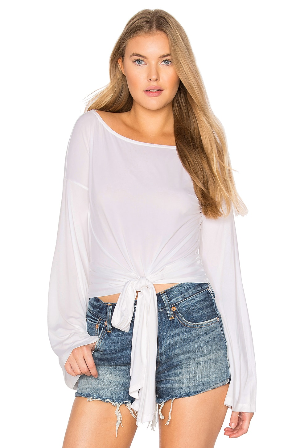 YFB CLOTHING Largo Top in White