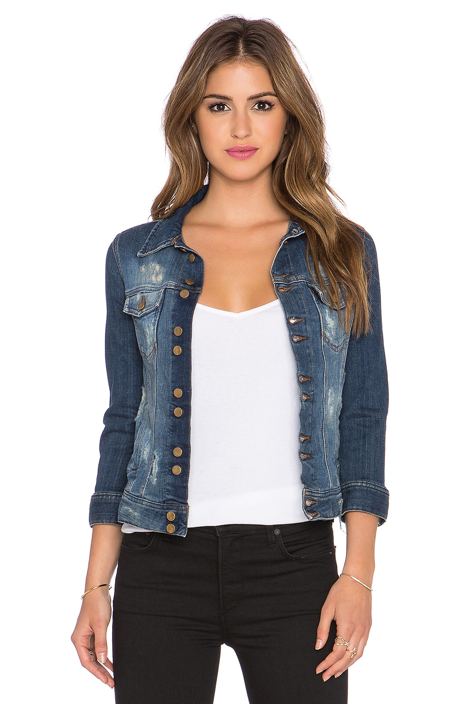 Acquaverde Denim Jacket in Ragged