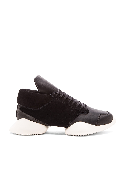 adidas by Rick Owens Runner en Core Black Core Black Core Ro Milk