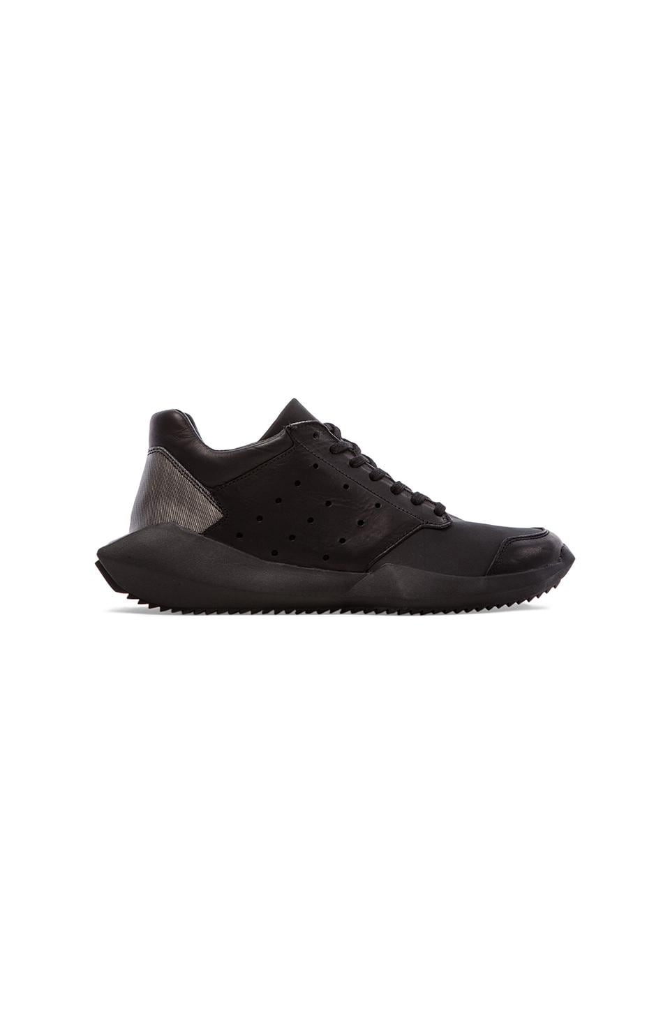 adidas by Rick Owens Tech Runner in Black