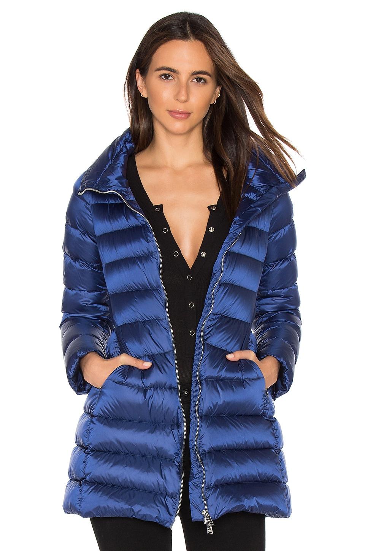 ADD Down Coat in Sapphire
