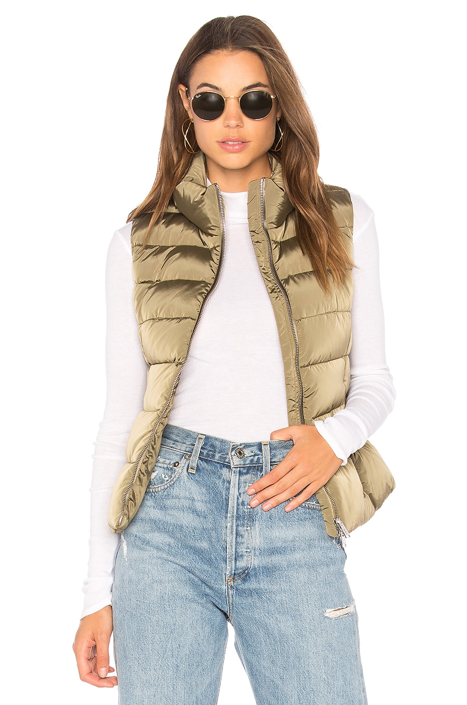 Down Vest by ADD