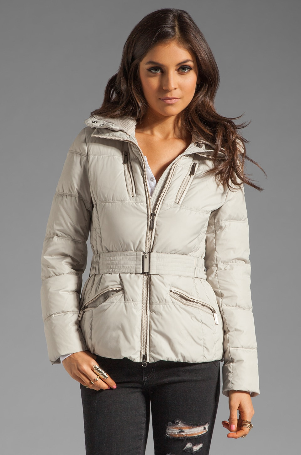 ADD Down Jacket in Almond