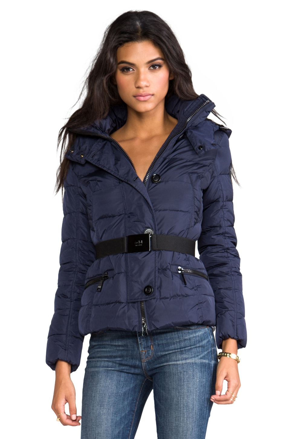 ADD Down Jacket in Deep Blue