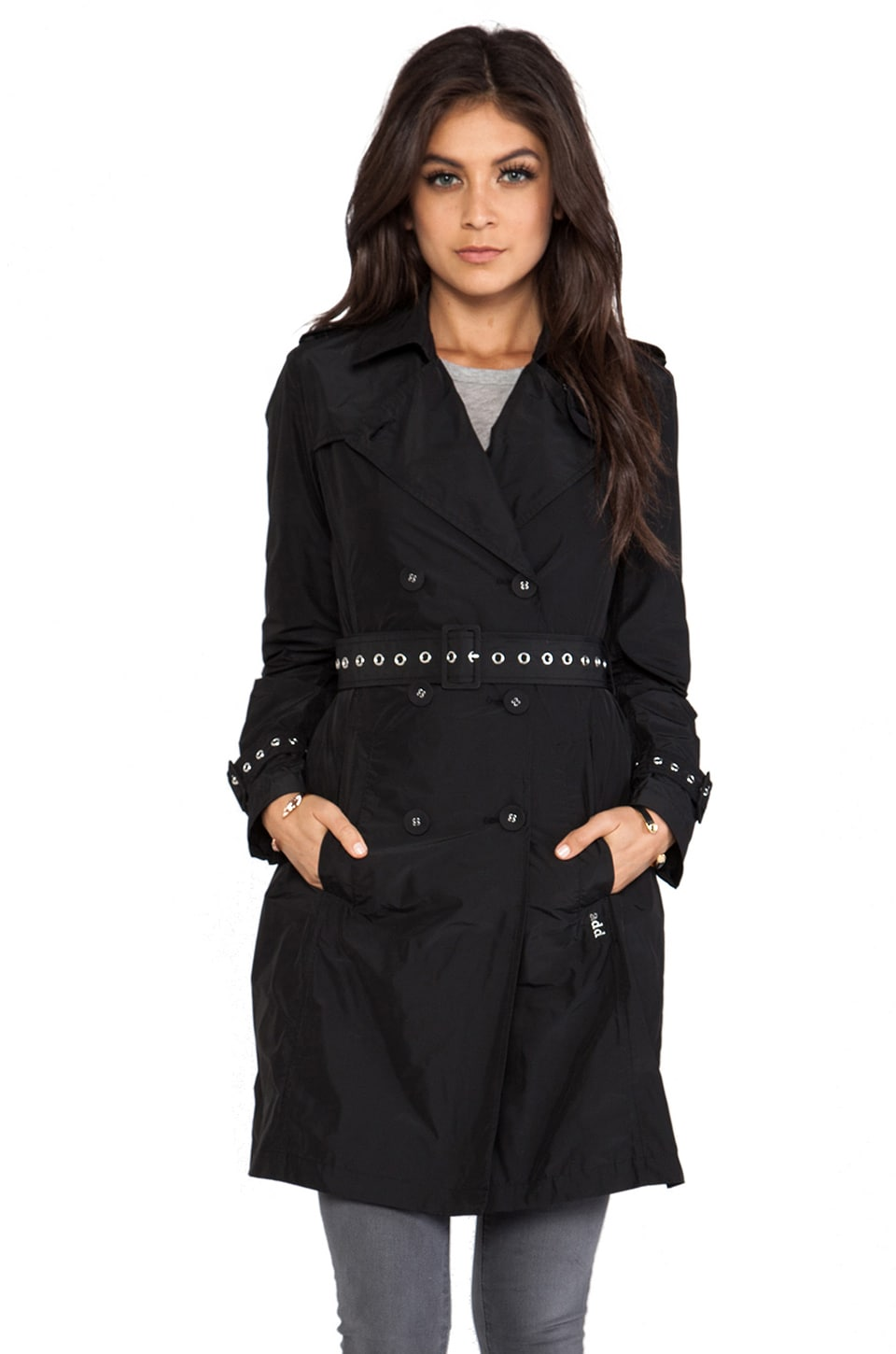 ADD Long Trench in Black