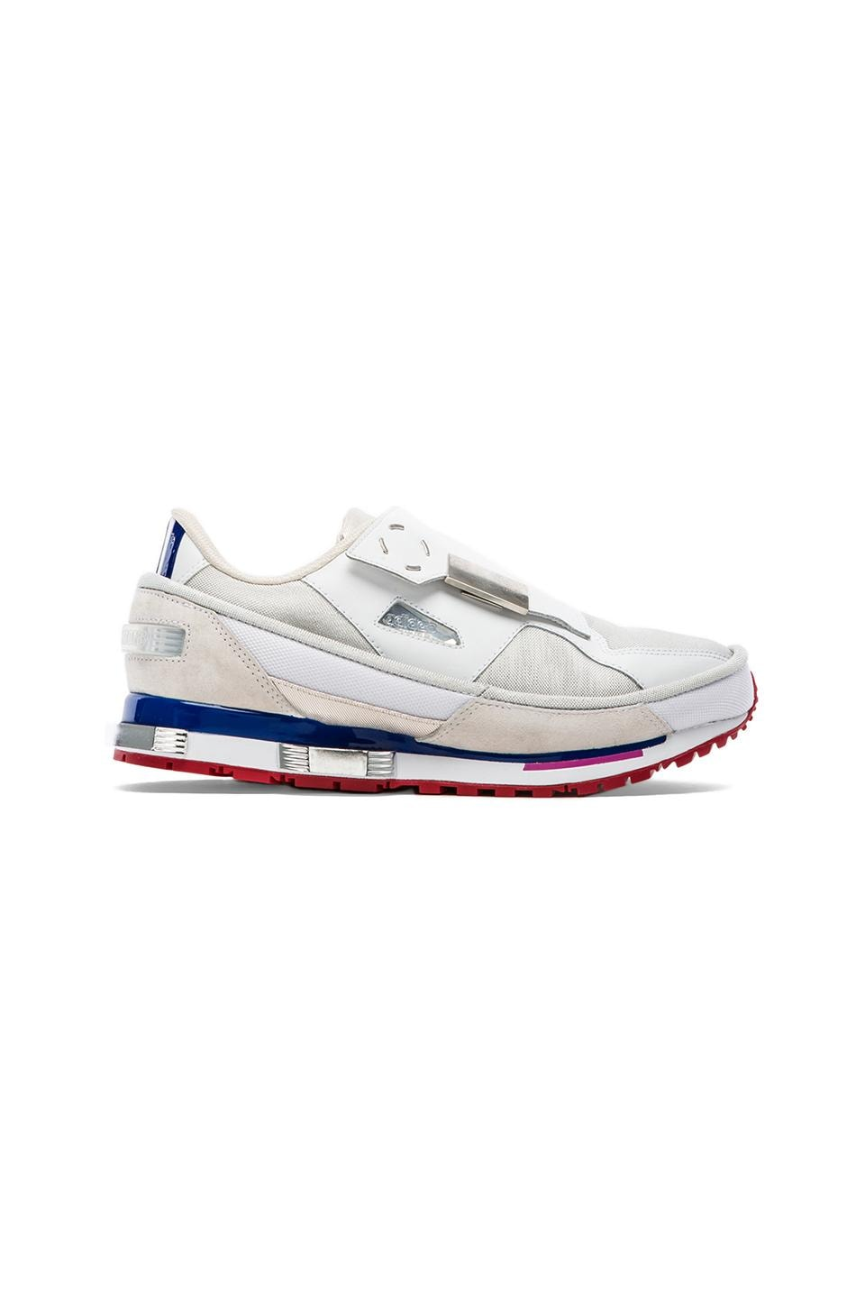 adidas by Raf Simons Rising Star 2 in White &  White &  University Red
