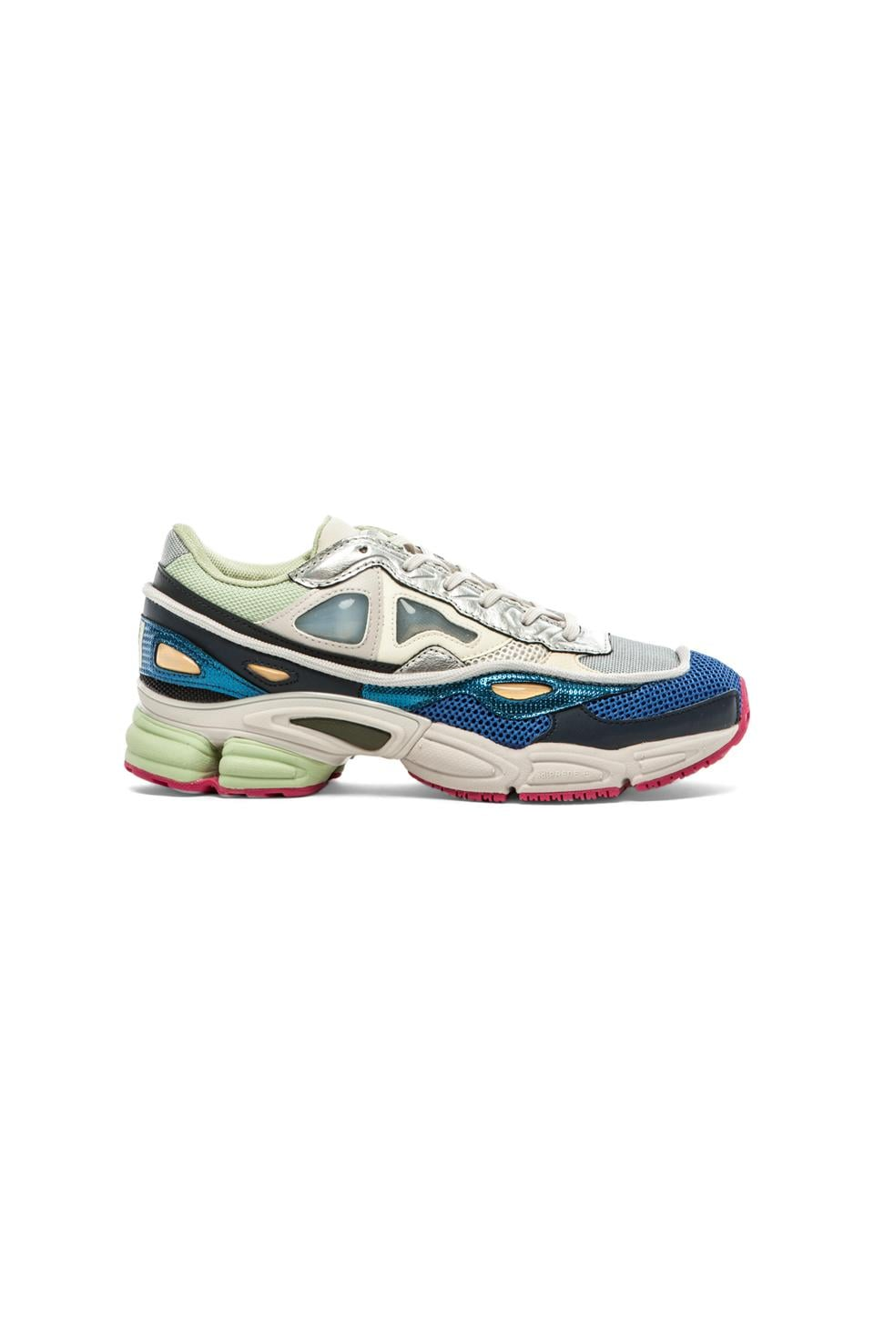 reputable site ea145 65826 adidas by Raf Simons Ozweego 2 in Cream White/ Supply/ Bold ...