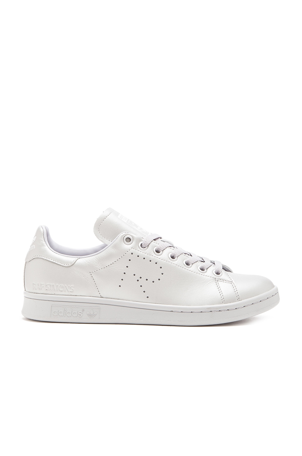 adidas by Raf Simons Stan Smith in Silver Met FTWR White Silver Met