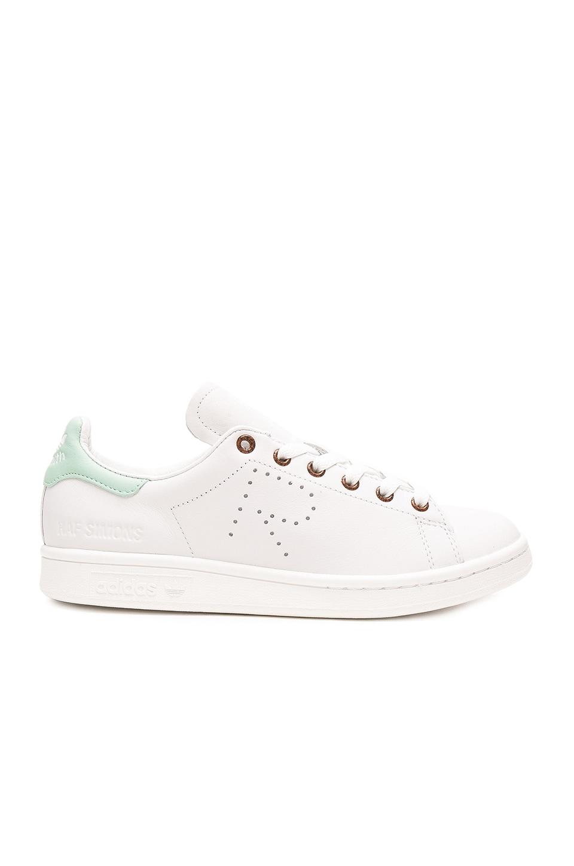 adidas da raf simons stan smith di scarpe da ginnastica in vintage white & blush
