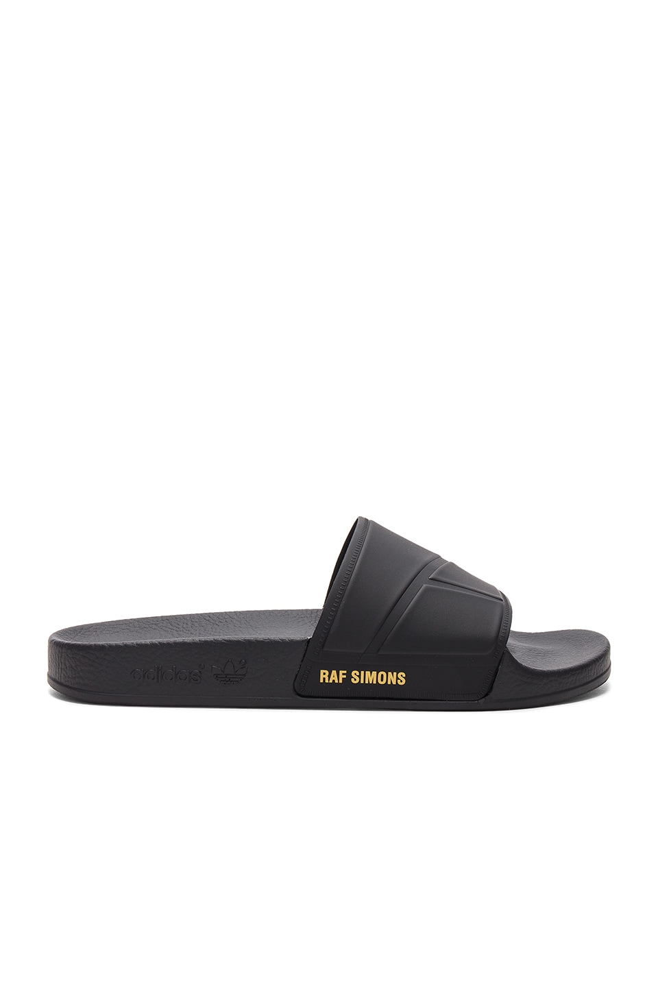 adidas by Raf Simons Bunny Adilette Slide in Black