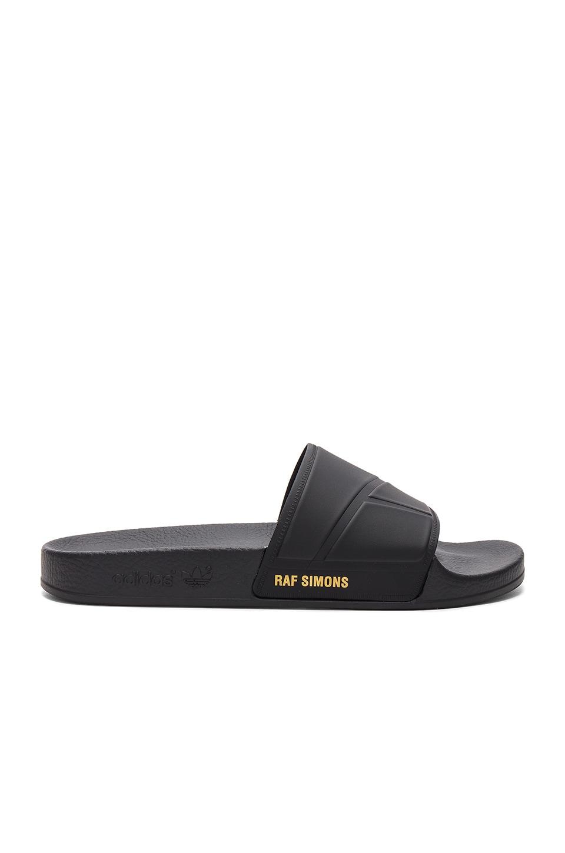 0a50a58f92ba adidas by Raf Simons Bunny Adilette Slide in Black