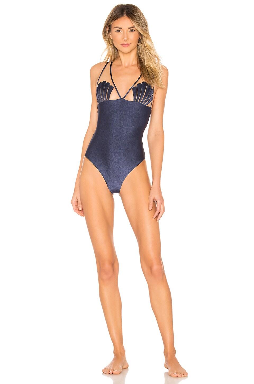 Adriana Degreas Marine Seashell Swimsuit