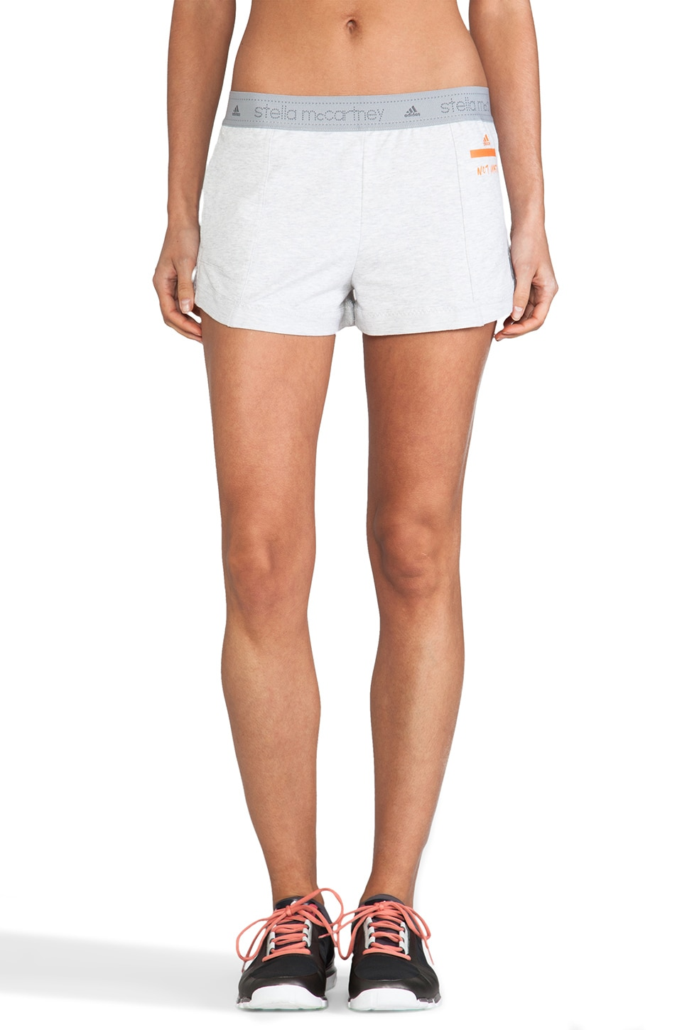 adidas by Stella McCartney Lowwaste Short in Light Heather Grey