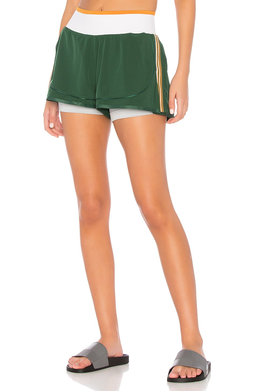 adidas by Stella McCartney Train High Intensity Short in Dark Green