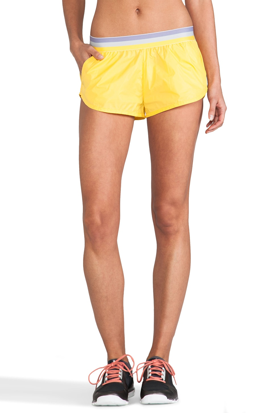 adidas by Stella McCartney Stu Short in Yellow