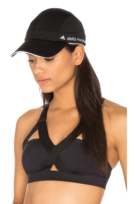 9048c6b720a7d adidas by Stella McCartney Run Cap in Black   White