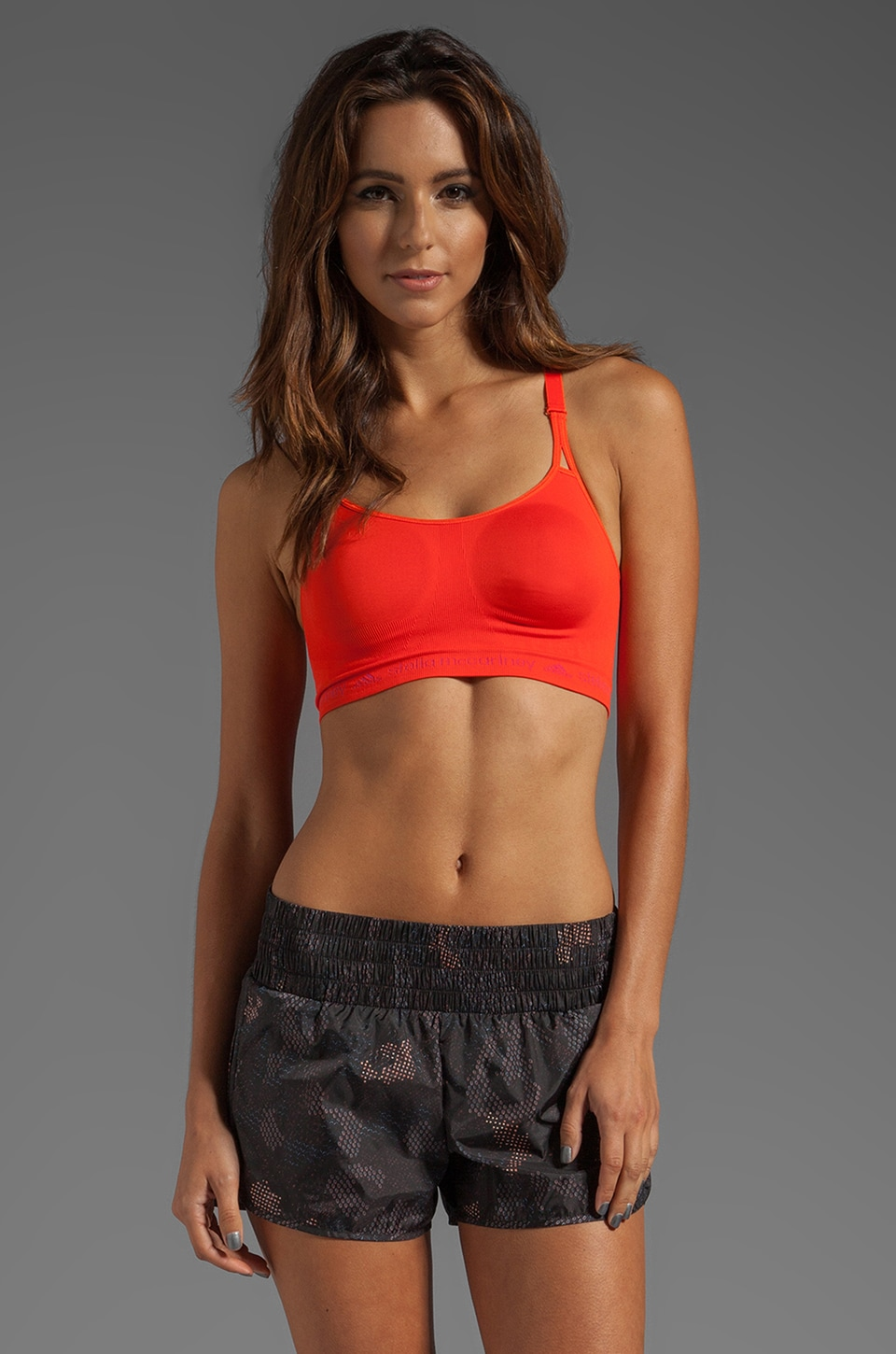adidas by Stella McCartney SL Perf Bra in High Energy