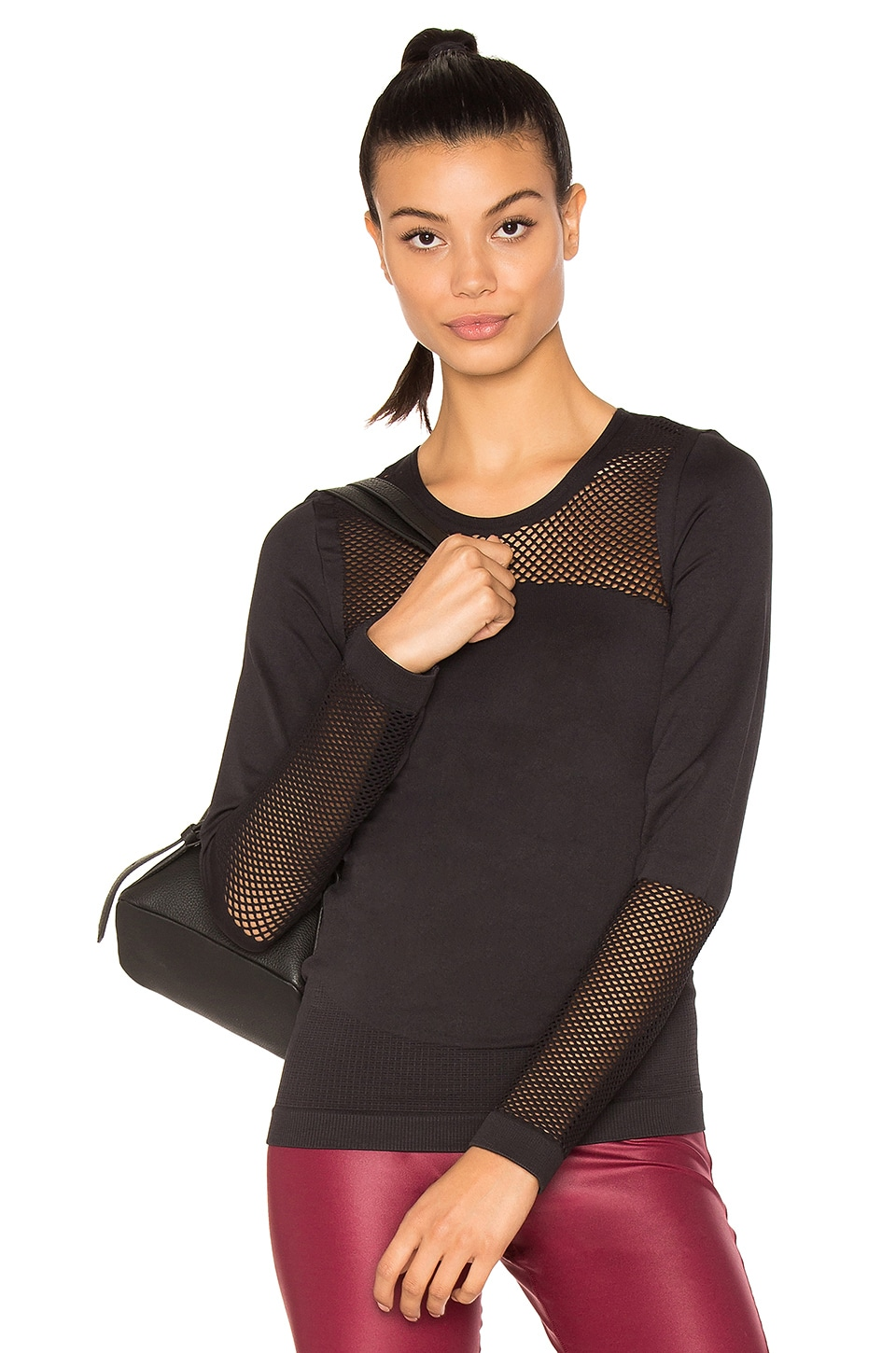 The Seamless Mesh Top by Adidas By Stella Mccartney