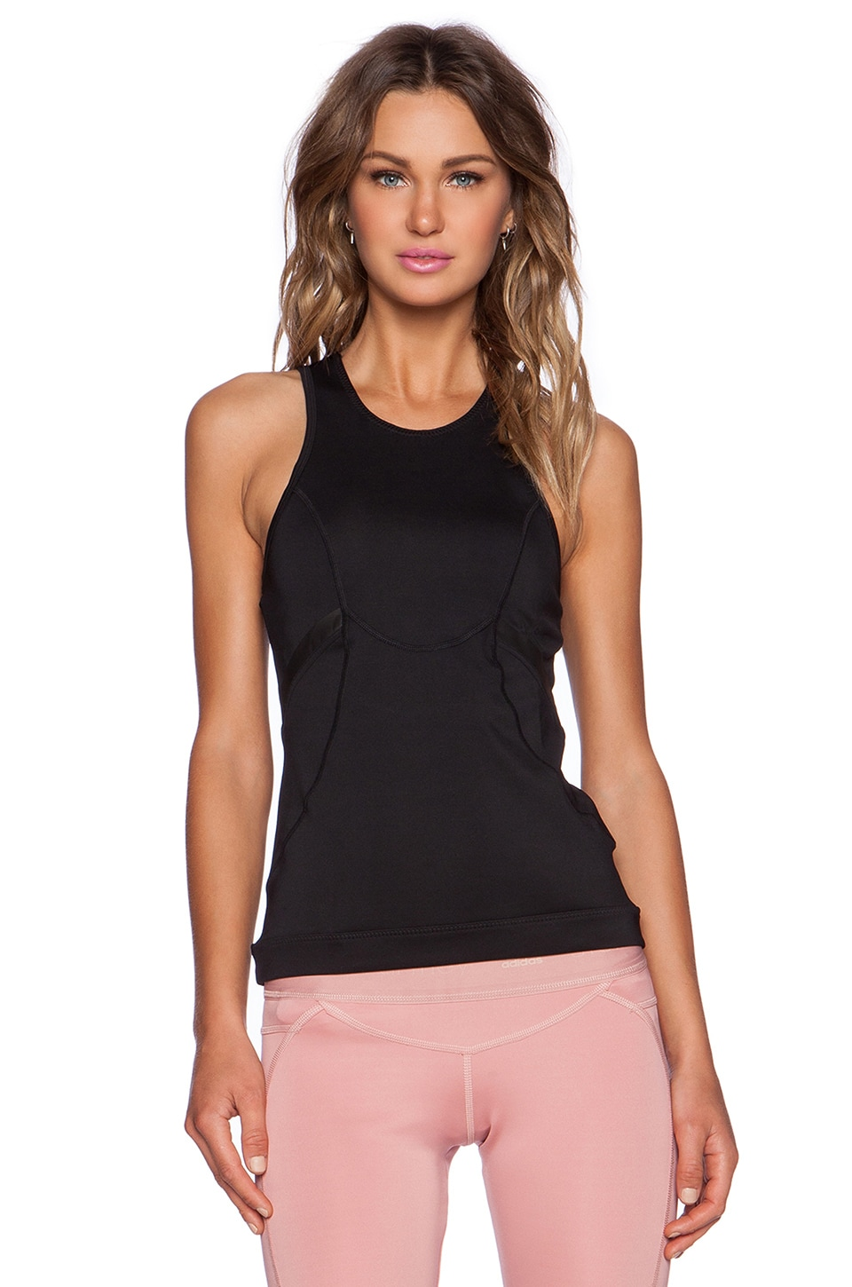 adidas by Stella McCartney Running Tank in Black