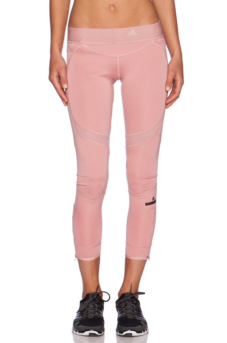 adidas by Stella McCartney Running 7/8 Tight in Band Aid Pink