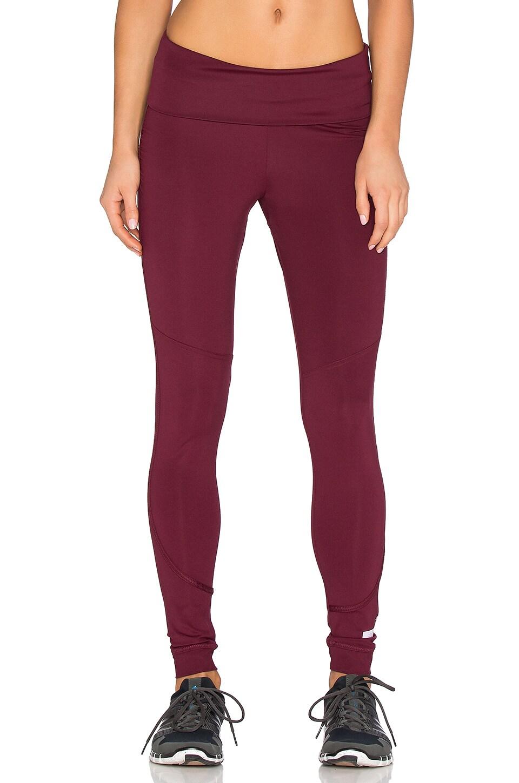 adidas leggings maroon