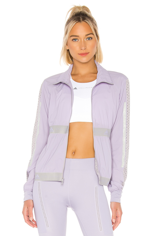 adidas by Stella McCartney Run Light Jacket in Iced Lavender