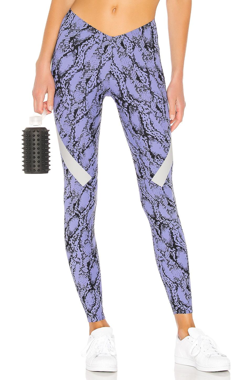 adidas by Stella McCartney Alphaskin Legging in Joy Purple & Black