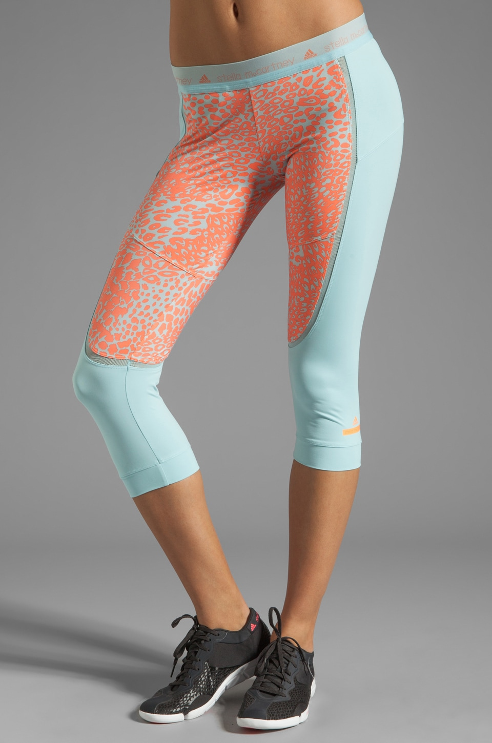 adidas by Stella McCartney Athletic Pant in Vapour Blue/Ultra Bright
