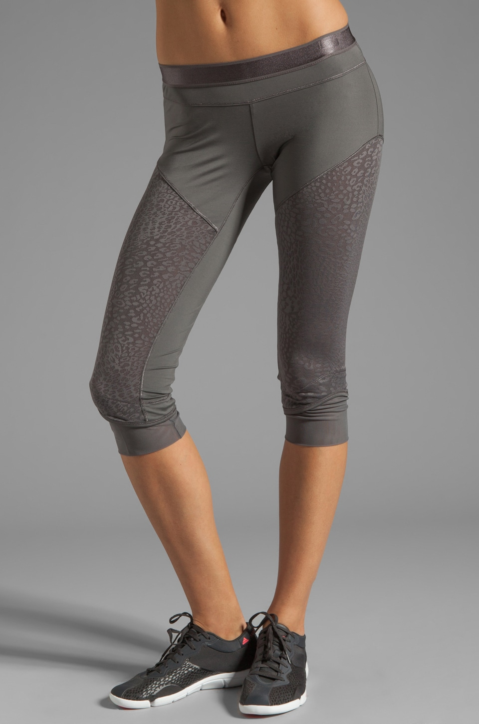 adidas by Stella McCartney Athletic Pant in Sharp Grey