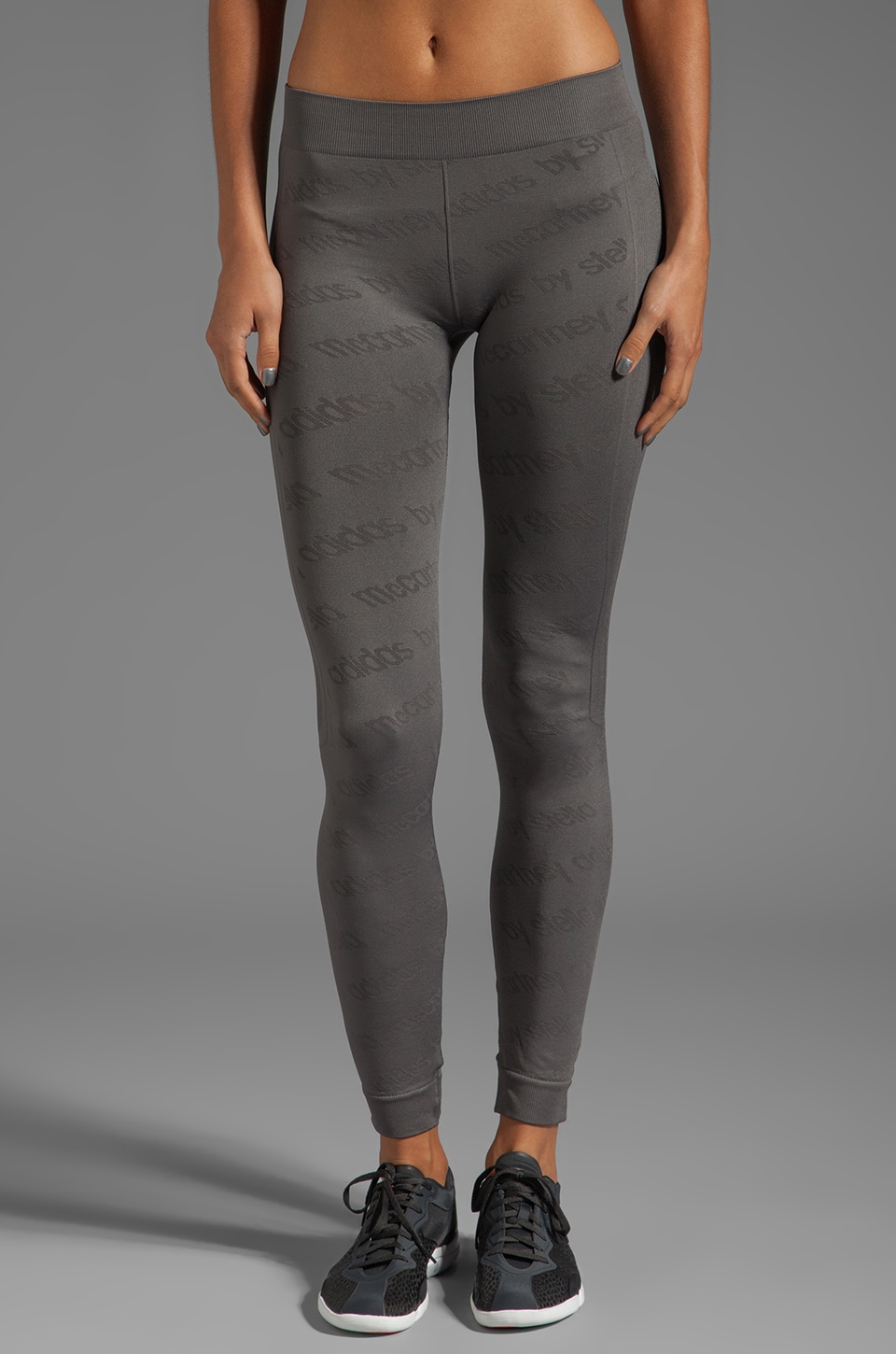 adidas by Stella McCartney WS Perf SL Tight Legging in Sharp Grey